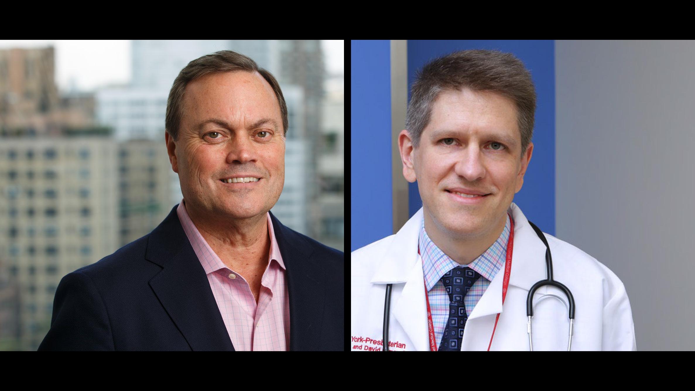 Dr. David Lyden and Dr. Oleh Akchurin